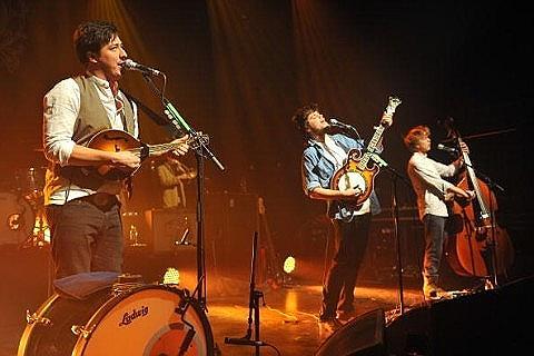 Setlist de Mumford & Sons para sus conciertos en España.