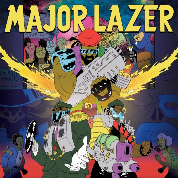 "NUEVO: Major Lazer y Ezra Koenig, ""Jessica""."
