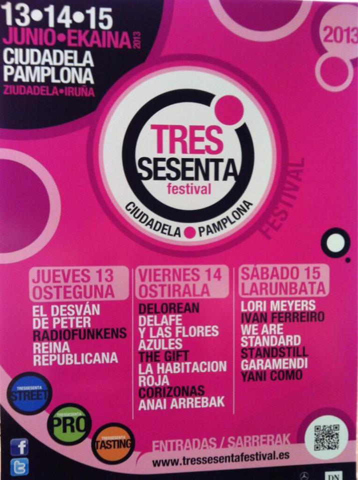 Cartel del Festival Tres Sesenta.