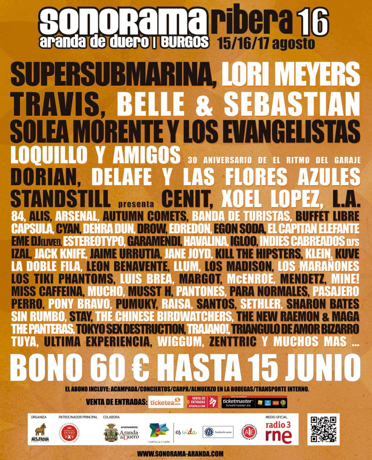 Cartel: Sonorama Ribera