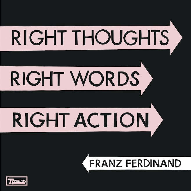 "Franz Ferdinand anuncian nuevo álbum ""Right Thoughts, Right Words, Right Action"""