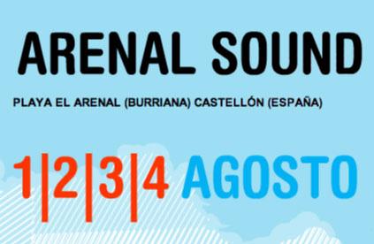 Horarios del Arenal Sound 2013