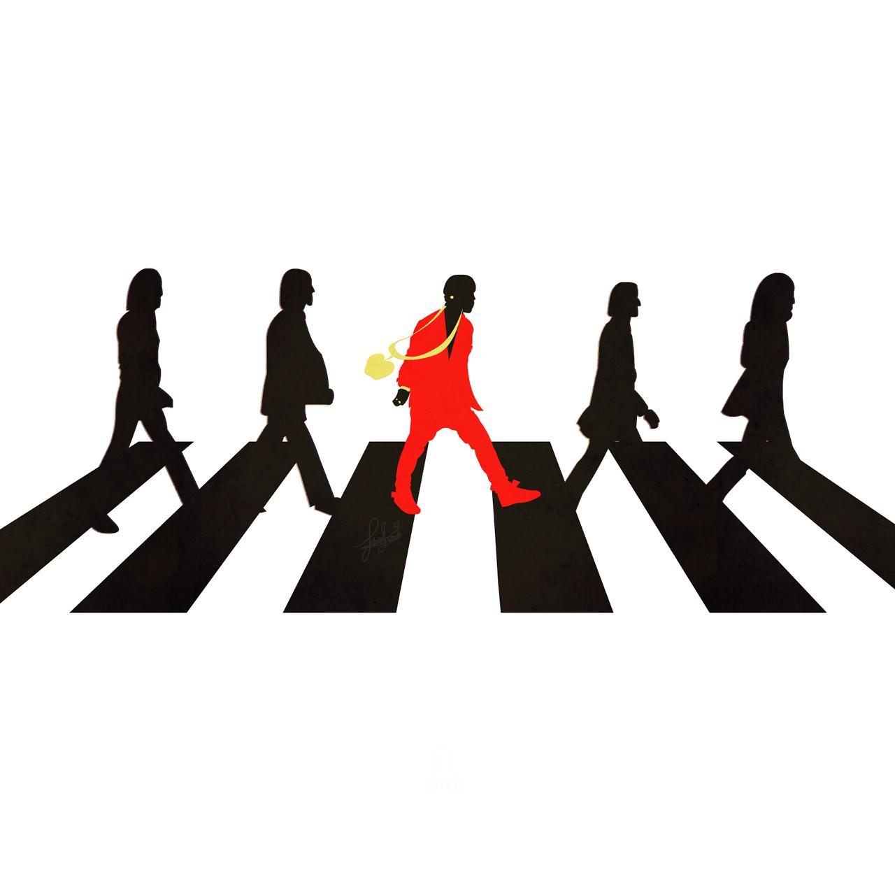 Álbum y single: The Beatles VS Kanye West (Mash-Up)