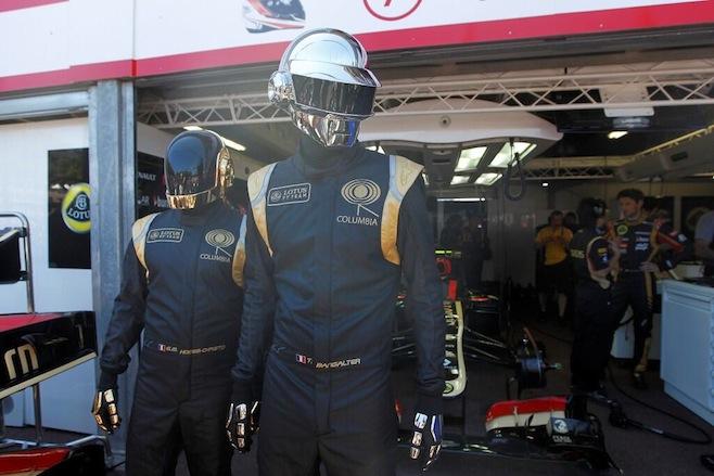 Daft Punk en el Gran Premio de Mónaco F1