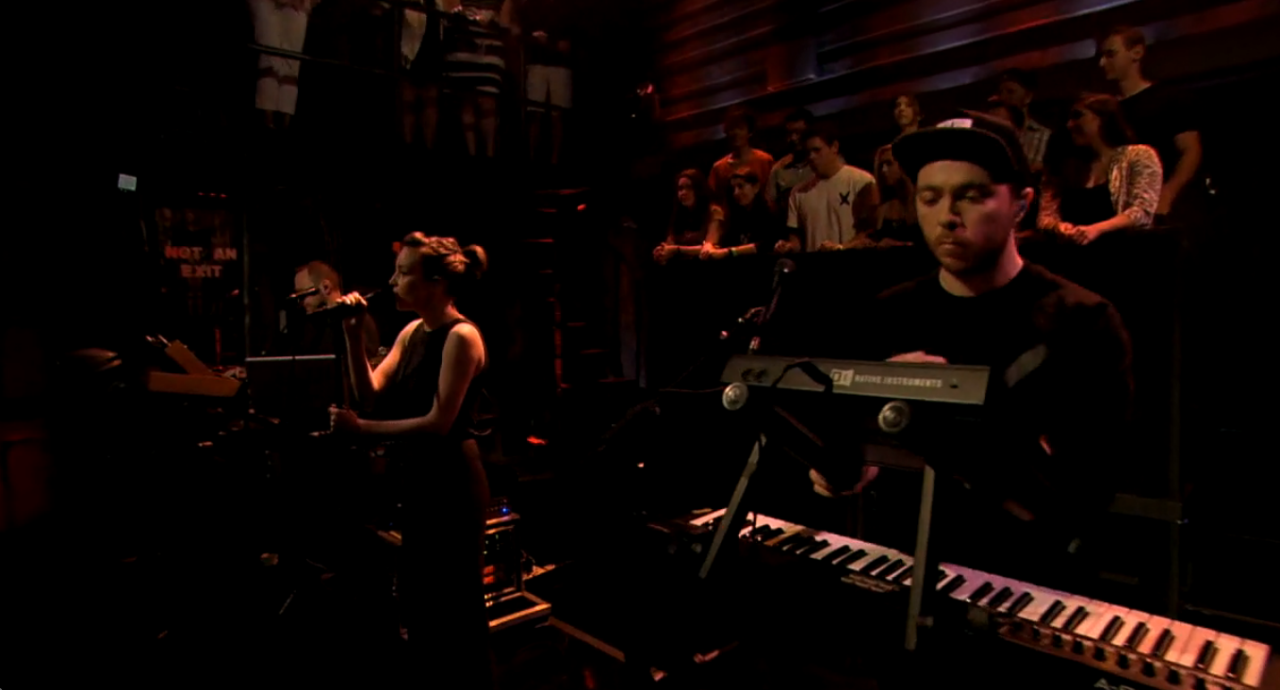 CHVRCHES en directo en Jimmy Fallon