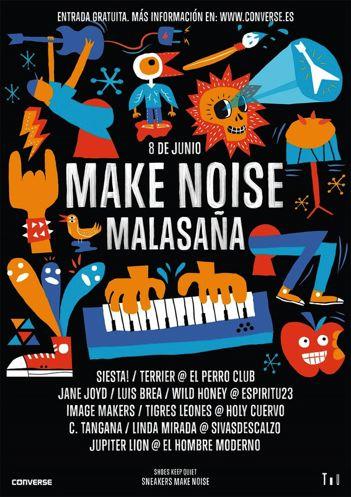 Make Noise Malasaña: Conciertos gratuitos
