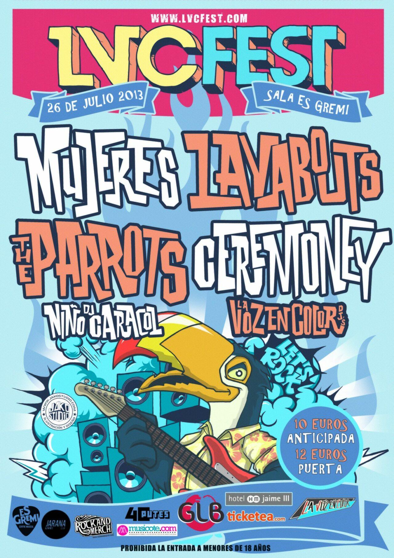 Horarios y Teaser del LVC Fest