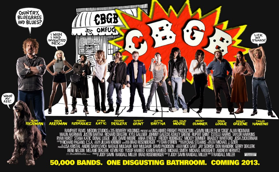 Detalles y tráiler de la película sobre el mítico CBGB