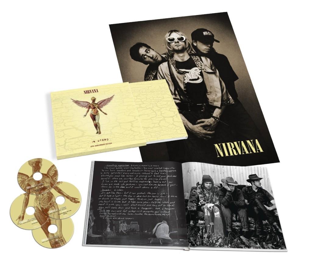 """Tracklist completo de la reedición de """"In Utero"""" de Nirvana"""