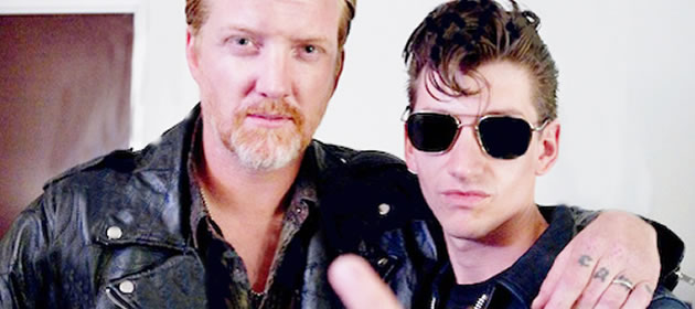 Queens Of The Stone Age versionan a Arctic Monkeys