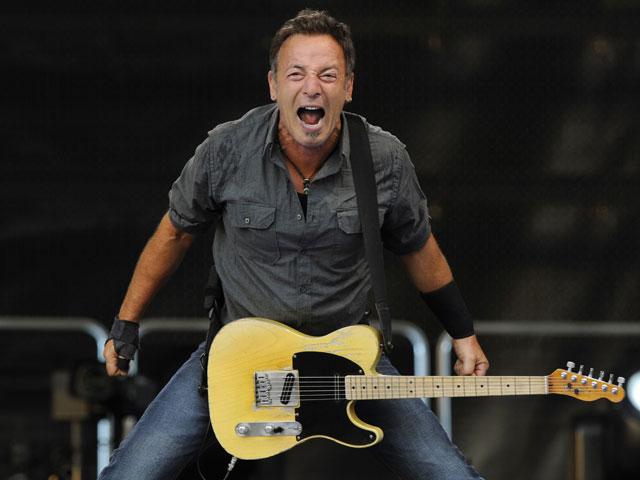 Bruce Springsteen cumple 64 años y lo celebra así