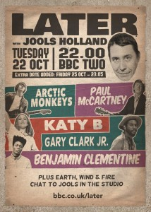 JOOLS holland arctic monkeys paul