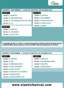 elastic festival horarios