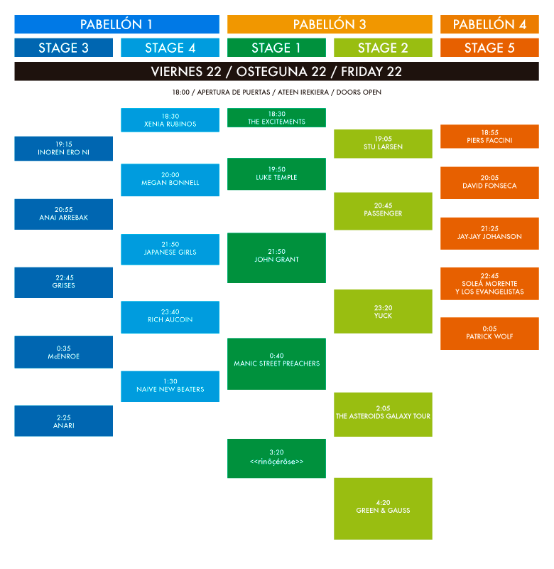 horarios bime 2013