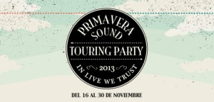 primavera sound touring party horarios