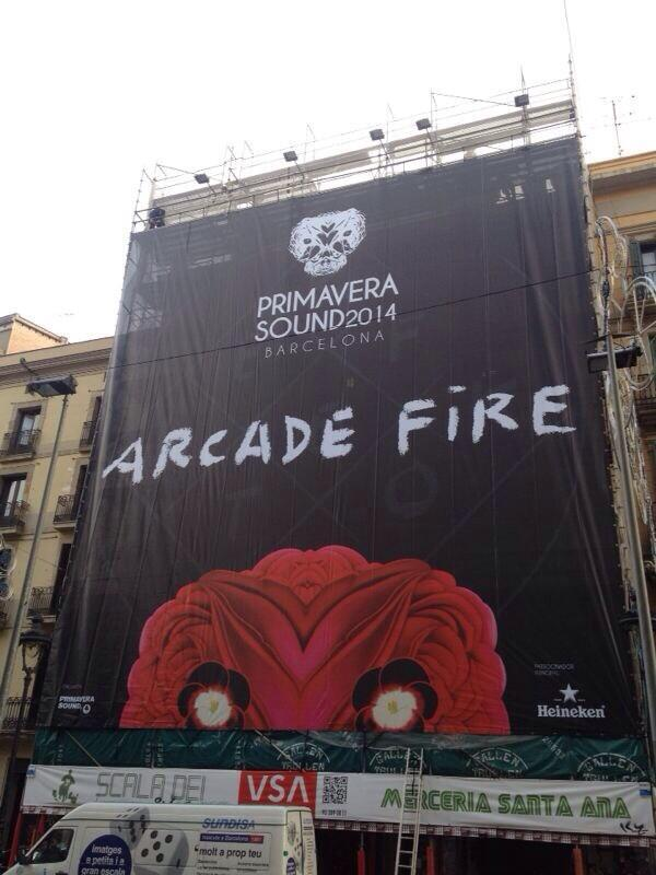 arcade fire primavera sound 2014