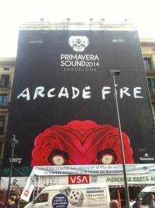 arcade fire primavera sound