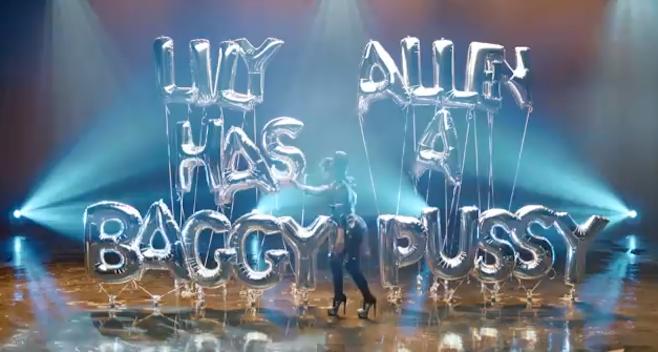 """Lily Allen vuelve parodiando en su nuevo vídeo: """"Hard Out Here"""""""