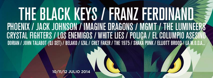 Nuevos confirmados del BBK 2014: Crystal Fighters, Chet Faker…