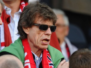 mick jagger arsenal