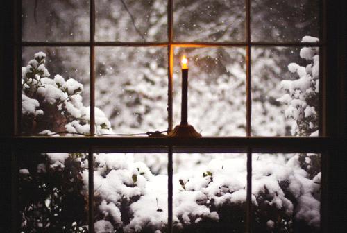 velas nieve