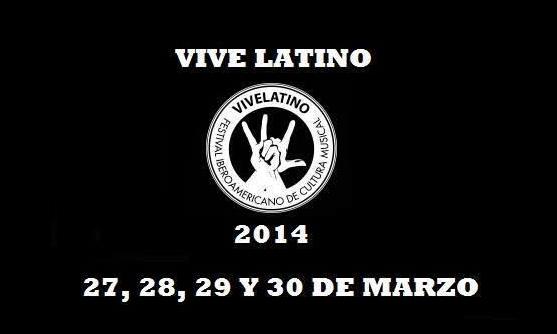 Cartel del Vive Latino 2014: Arcade Fire, Placebo, Calle 13…