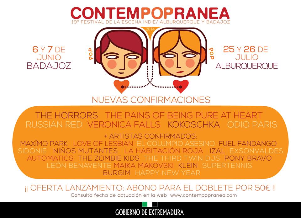contempopranea cartel 2014