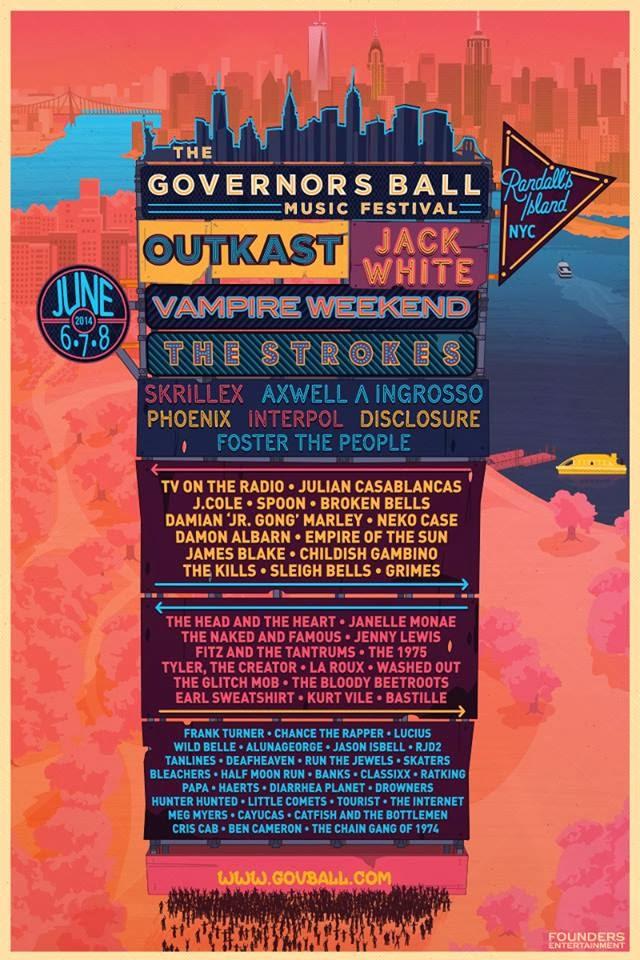 Governors Ball, 1º festival de 2014 en confirmar a The Strokes y Jack White