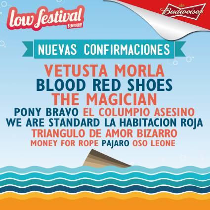 nuevas confirmaciones low festival