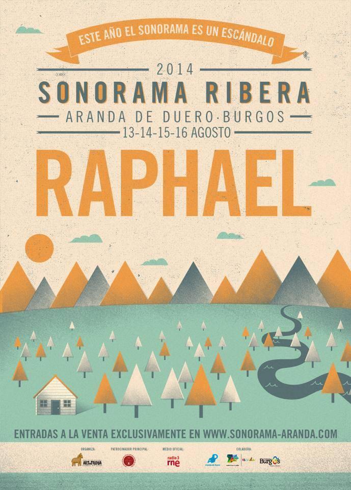 Raphael, al Sonorama Ribera 2014