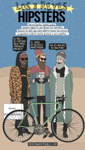 reyes magos hipsters