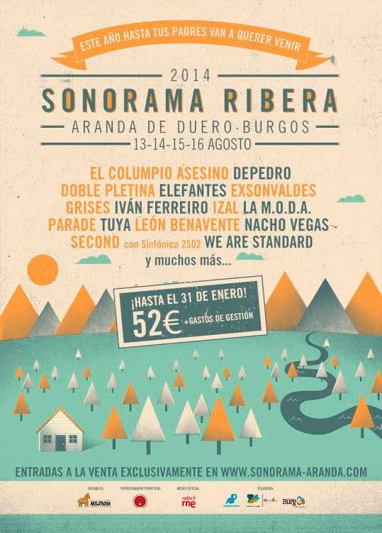Nuevas confirmaciones del Sonorama Ribera 2014