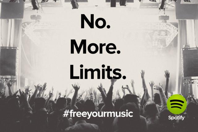 Se acabaron los límites de tiempo en Spotify