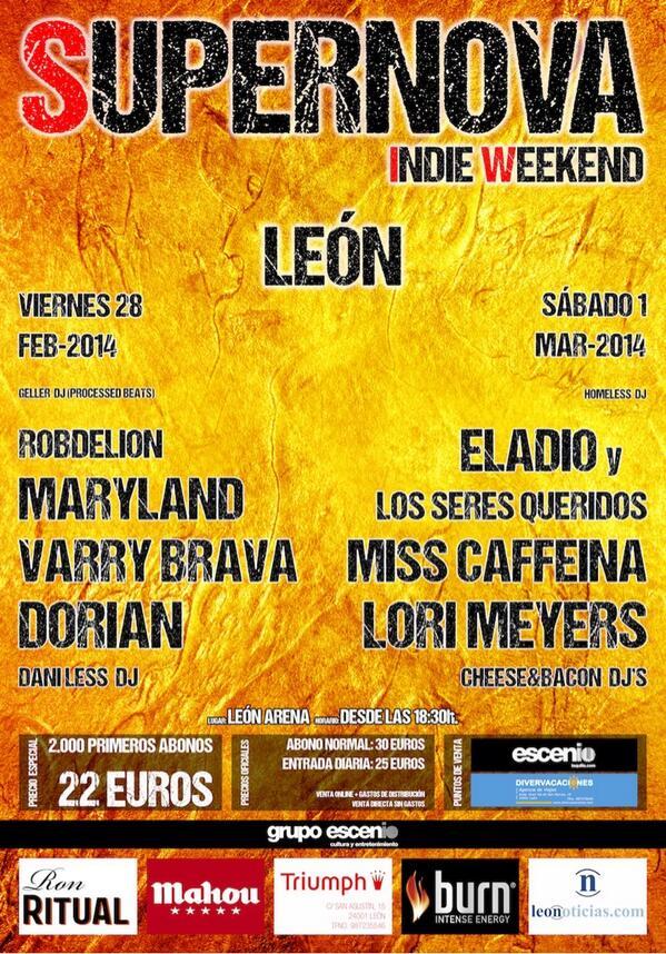 Primera Edición del Supernova Indie Weekend en León