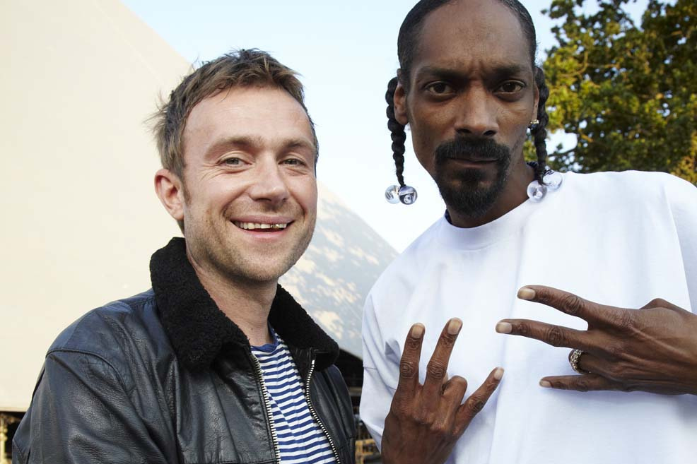 damon albarn snoop dogg