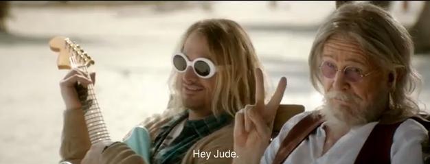 John Lennon, Kurt Cobain y Elvis  en el mejor anuncio de la historia