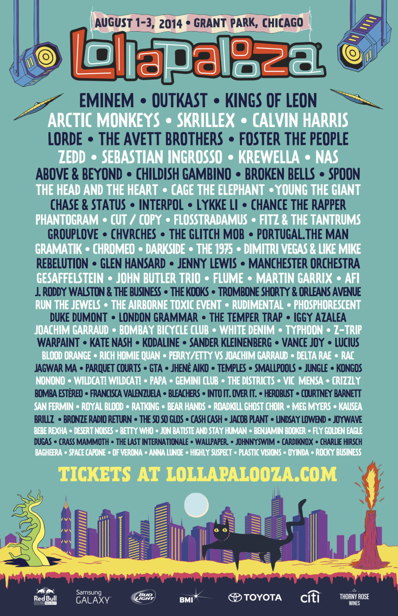 El Lollapalooza 2014 bate récords