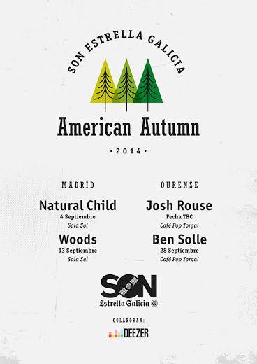 Primeras confirmaciones del ciclo American Autumn: Woods, Ben Sollee..