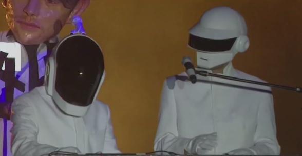 Arcade Fire trolearon al Coachella con la aparición de Daft Punk