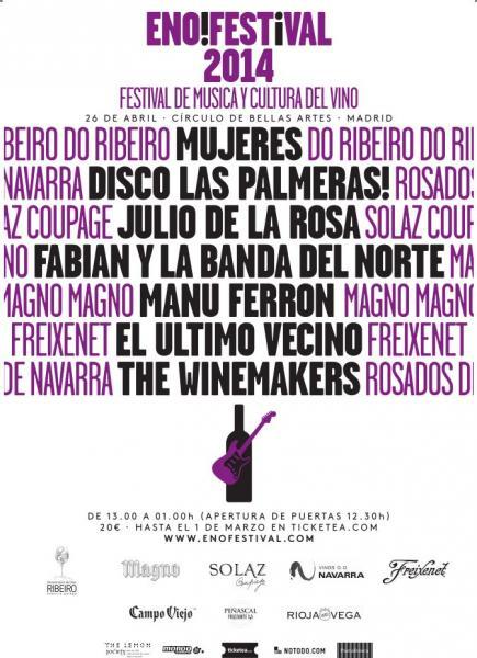 enoFestival: Música y vino combinados en un festival encabezado por Mujeres