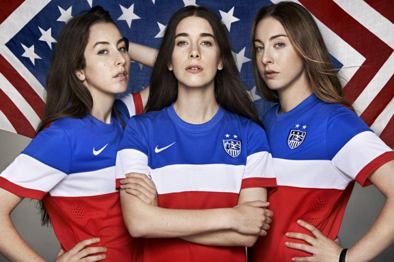 Estados Unidos convoca a HAIM para el Mundial de Brasil