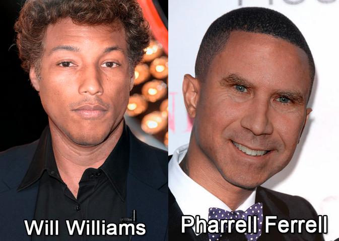 Pharrell Williams es Will Ferrell