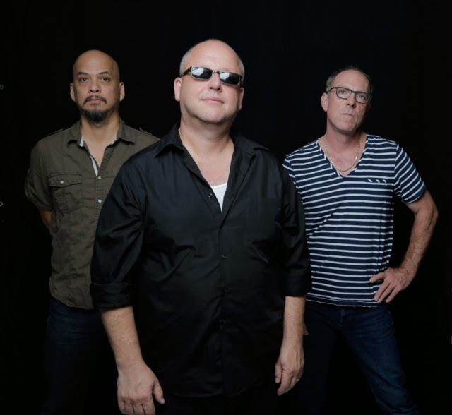 FROM LEFT:  Joey Santiago, Black Francis, David Lovering