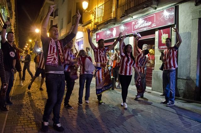 Así vivieron las calles de Madrid la final de Champions