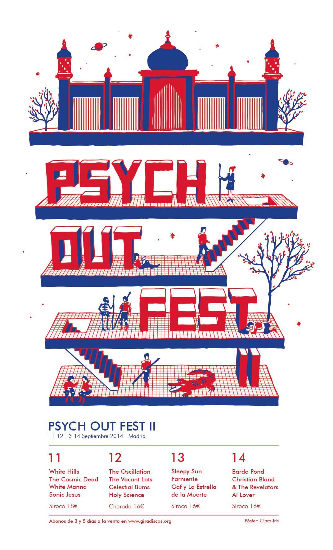 La segunda edición del Psych Out Fest llega a Madrid