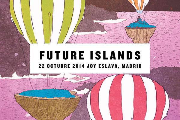 ¿Estás preparado para un concierto de Future Islands?