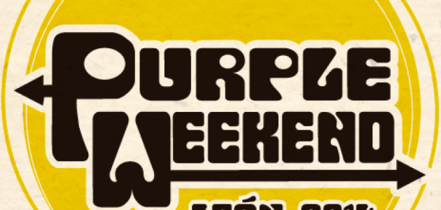 logo purple weekend 2014