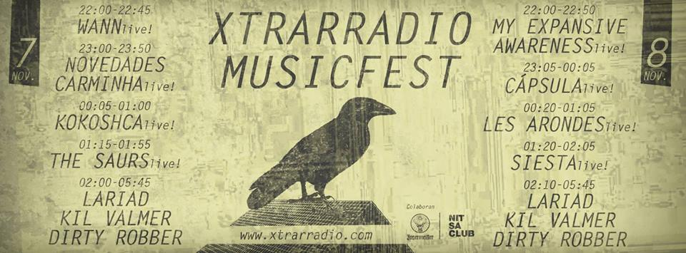 Xtrarradio Music Fest se consolida con un cartel muy apetecible
