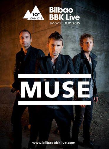 Bilbao BBK Live 2015: Muse, primeros confirmados