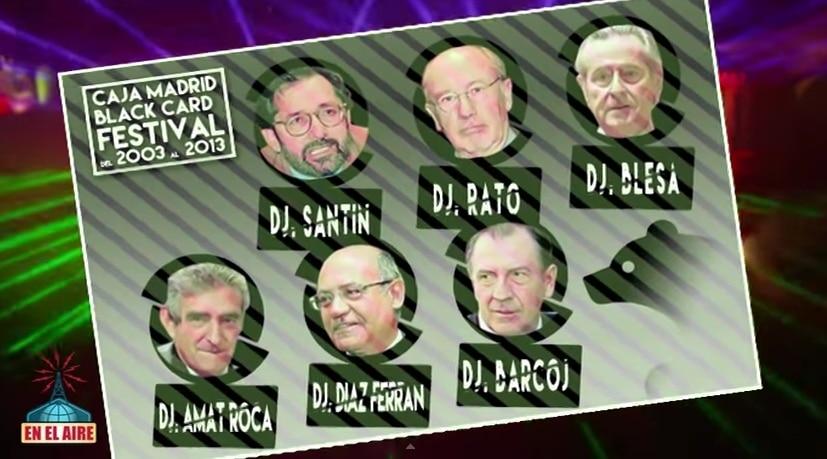 Caja Madrid Black Card Festival: El festival de los corruptos